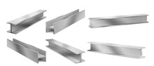 Metal Construction Beams, Stee...
