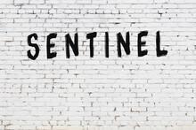 Inscription Sentinel Painted O...