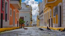 SAN JUAN, UNITED STATES - Oct 31, 2020: Breathtaking Shot Of Beautiful Buildings Captured In San Juan, Puerto Rico