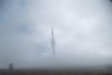 Praded Antena Tower In Jeseniky Czechia Mountains