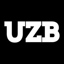 Uzbekistan UZB Abbreviation Vector Design Custom Font. Tashkent, Samarkand, Khiva, Buhara, Uzbek People. Download It Now