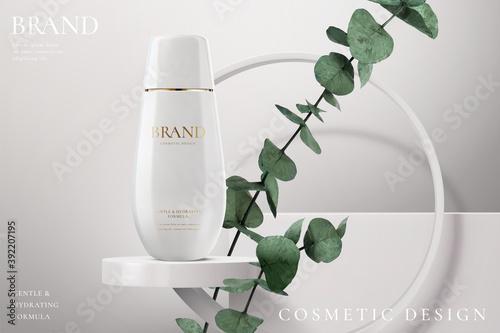 Obraz Hydration cosmetic cream ads - fototapety do salonu