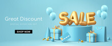 Great Discount Sale Banner Design