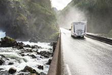 Motorhome Camper Van Driving F...