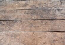 Big Brown Wood Plank Wall Text...