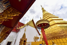 Wat Phra That Cho Hae In Phrae Province, Thailand