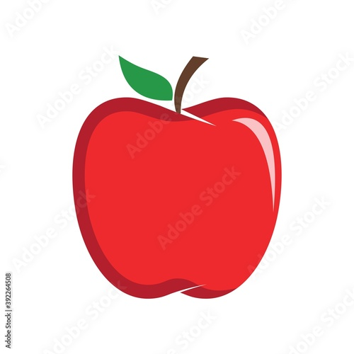 Obraz na plátně apple logo, vector design icon
