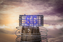 5G In A Cage On The Top Of A Mountain