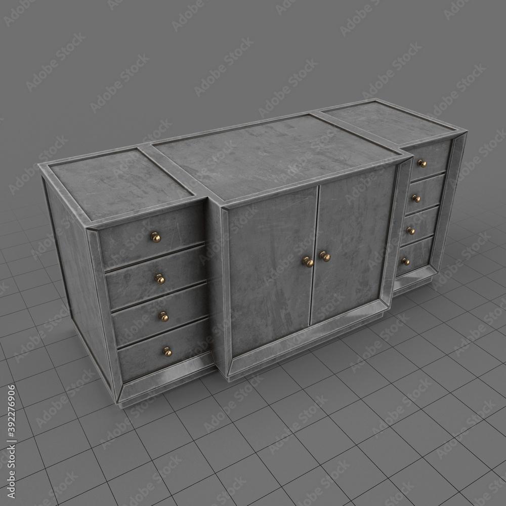 Fototapeta Console cabinet