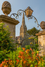 View Of Salisbury Cathedral From North Walk, Salisbury, Wiltshire