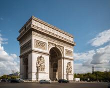 Arc De Triomphe De L'Etoile, Paris, Ile-de-France, France