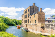 Coal Drops Yard And Regents Canal In King Cross, London