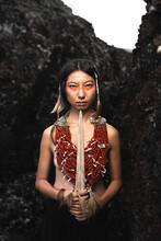 Ethnic Warrior Woman