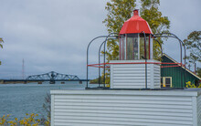 Lighthouse In Little Current O...