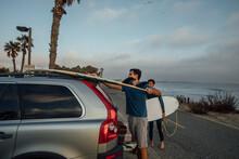 Loading Surfboards