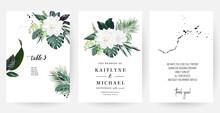 White Gardenia, Hibiscus, Gree...