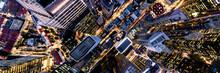 City Street Aerial