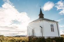 Small Church In Countryside In...