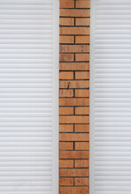 Brick Wall With Roller Shutters