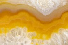 Orange Agate Closeup
