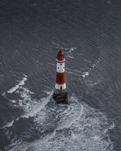 A Lighthouse In The Waves