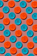 Orange And Blue Buttons