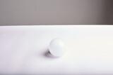 geometric ball with shadow, led bulb lamp, orb