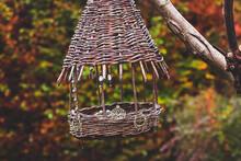 Outdoor Closeup Of Handmade Wi...