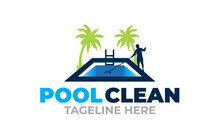 Creative Innovation Graphic Vector For Swimming Pool Concept Logo Design