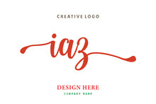 IAZ Lettering Logo Is Simple, Easy To Understand And Authoritative