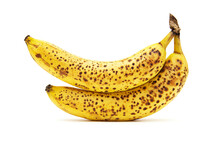 Two Ripe Yellow Bananas With S...