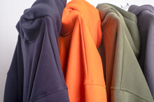 Parts Of Multi-colored Hoodie ...
