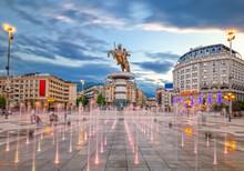 Skopje, North Macedonia - 01.0...