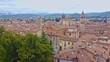 Aerial view of Città di Castello, Umbria