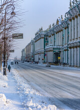 Palace Embankment In St. Peter...