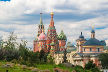Moscow Kremlin: View Of St. Ba...