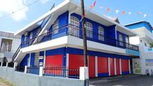 Maison Coloré De L'île Maurice
