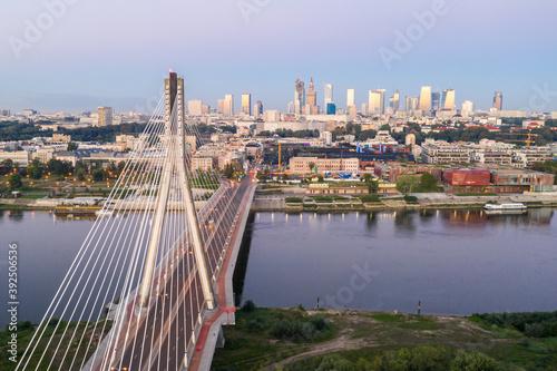 Fototapety, obrazy: Warsaw Bridge