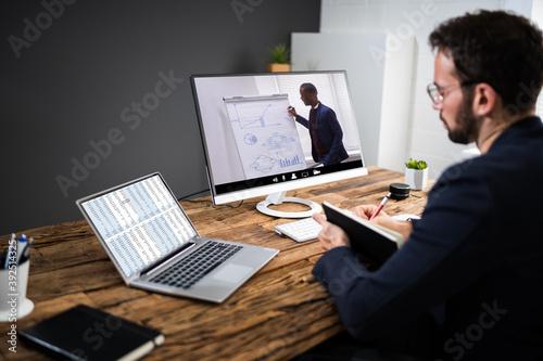 Fotografia Virtual Online Coaching Meeting