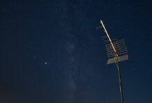 Television Antenna Pointing To...