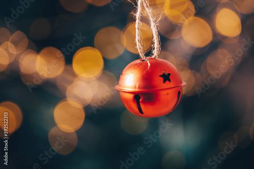 Fotografia red christmas balls
