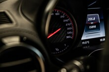 Car Dashboard And Speedometer ...