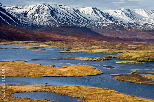 Fototapeta Landscape near Pingvallavatn - Iceland
