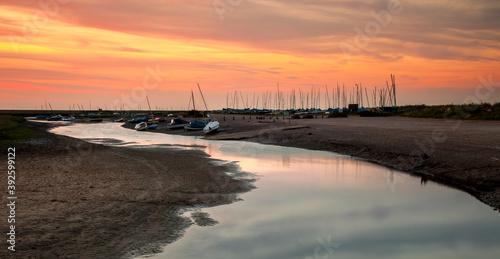 Blakeney Estuary Fototapet