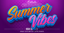 Summer Vibes Text Effect - Editable Text Effect.
