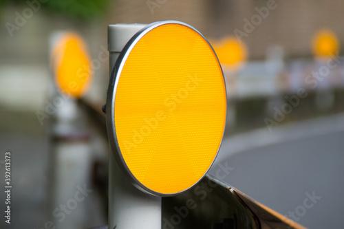 Valokuva ガードレール用視線誘導標の反射板