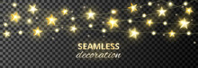 Seamless Decoration With Golde...