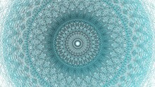 Abstract Blue Background In The Form Of Spokes Or Lines. 3d Rendering. Wallpaper.