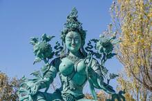 Statue Of Tara, Buddhist Goddess