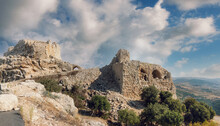 Nimrod Fortress  Is A Medieval Ayyubid Castle Situated On The Southern Slopes Of Mount Hermon, On A Ridge Rising About 800 M (2600 Feet) Above Sea Level.